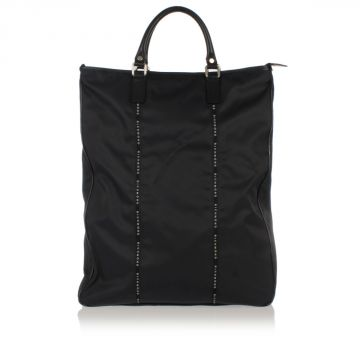 Fabric Big  Shopping Bag with Shoulder Strap