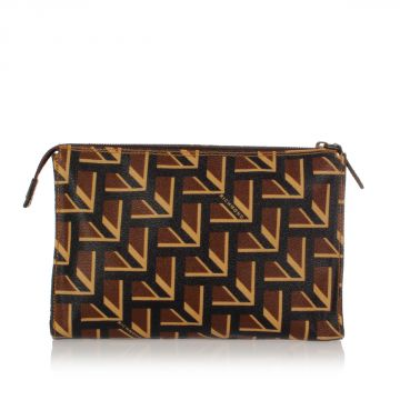Printed Leather Hand Bag