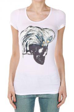 T-Shirt con stampa Teschio