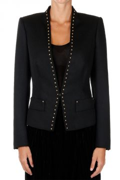 Studded virgin Wool Blazer