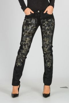 Strass and Studded Pants