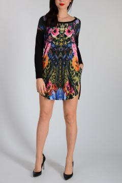 Silk Oversize Dress