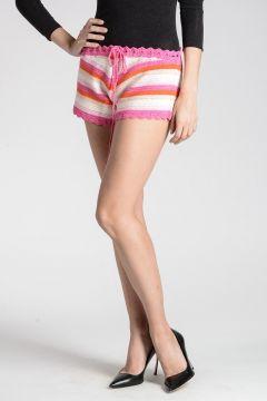 SHORTCROC Shorts in Maglia di Cotone