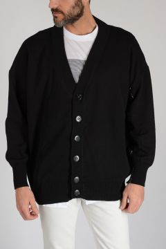 Lined Cotton Cardigan
