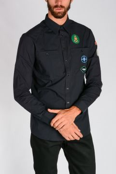 Scout Patches Cotton Shirt