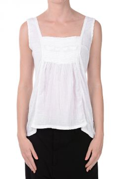 Viscose Silk Sleeveless Top