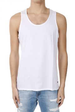 Cotton Blend Sleeveless T-shirt
