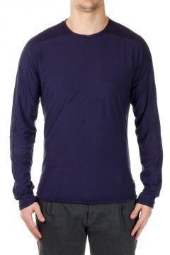 T-shirt Maniche Lunghe in Misto Cotone