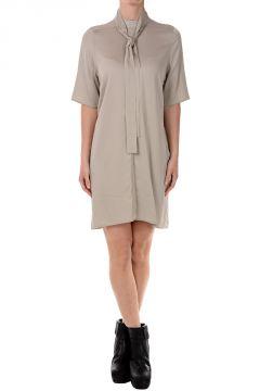 Stretch Fabric Tunic Dress