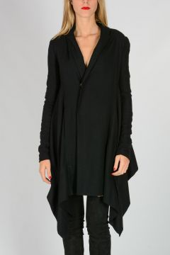 Silk wool Blend Long Cardigan