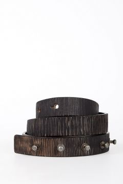 Leather LONG BELT 25 mm
