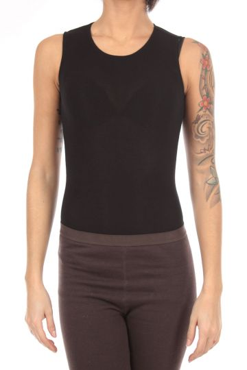 Long sleeveless bodysuit with Buttons