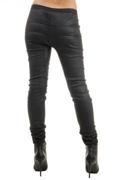 LEVEL Leggings in cotone elasticizzato