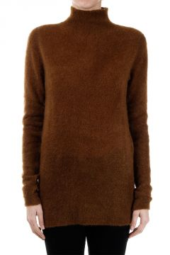 TURTLE NECK Mohair Blend Sweater