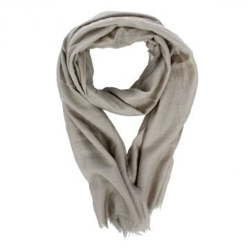Cashmere Cotton and Silk CONNIE Scarf