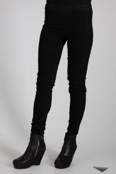DRKSHDW Stretch Denim SIMPLE LEGGING BLACK MATTE