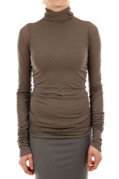 Turtle Neck Cotton Blended Sweater