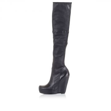 Pull On Boots with Wedge