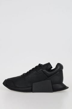 ADIDAS for RICK OWENS -  LEVEL RUNNER LOW II  Leather Sneakers