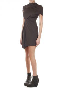 Asymmetric Cut Bound T Dress