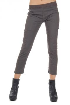 DRKSHDW Legging CROPPED PLAIN in cotone stretch