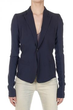 SHORT BLAZER in Seta