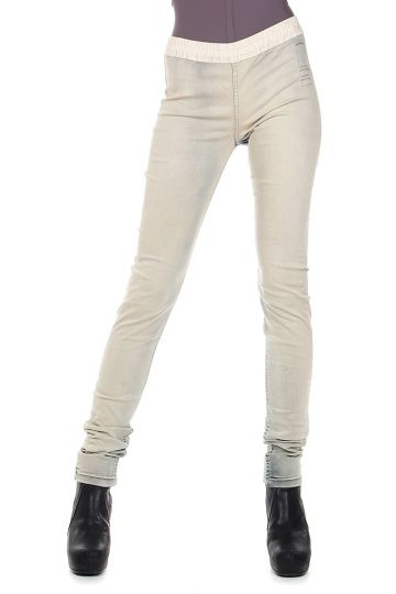 DRKSHDW LEGGINGS PLAIN in Denim Stretch