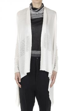 SHORT MEDIUM Virgin Wool Cardigan