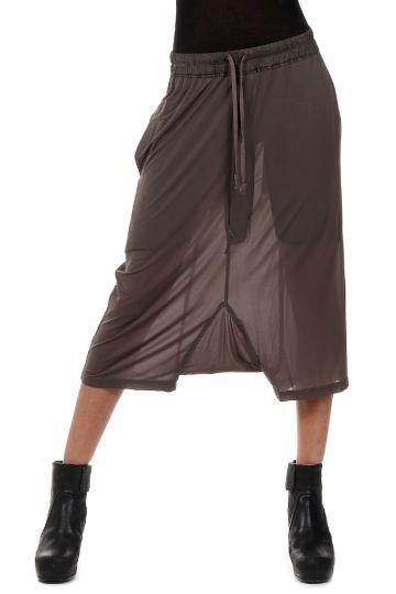 Low Crotch Stretch Dark Dust Culotte