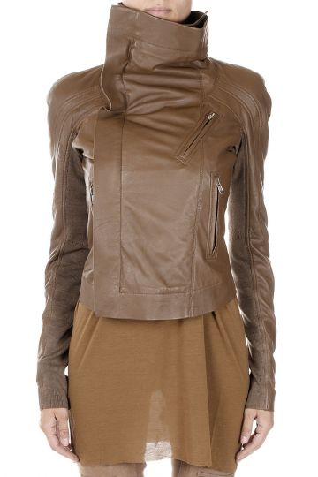 Leather BIKER ELIEL SLEEVES Jacket