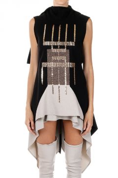 Top BLOSSOM EMBROIDERED TUNIC