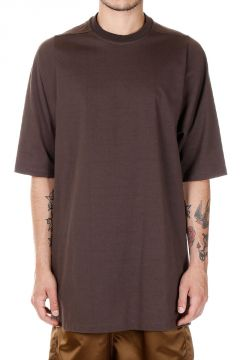 T-shirt lunga in cotone  CREWNECK T SHORT SLEEVES
