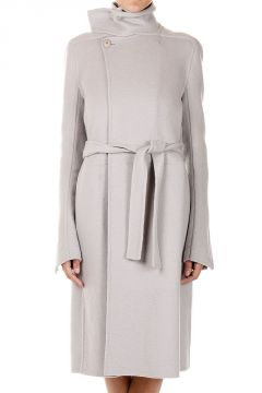 Trench in Cashmere con Cintura