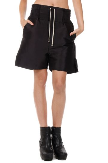 Shorts in Seta con Coulisse