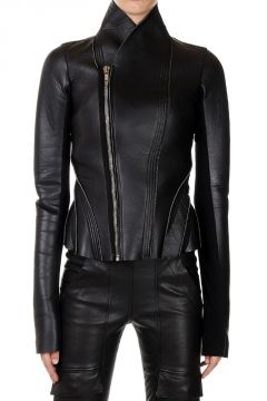 LILIES PRINCESS Leather Jacket