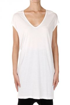 Silk blend FLOATING Milk T-shirt