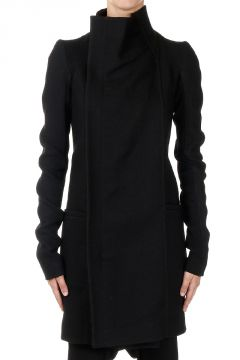 Zipped Mixed Wool EILEEN Coat