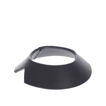 Leather NOTCHED BANGLE  Bracelet