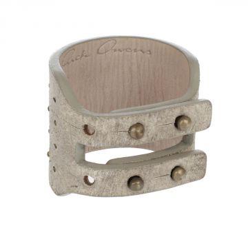 Bracciale HIGH BRACELET  In Pelle con Applicazioni in Metallo