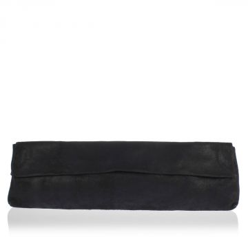 Long Leather Clutch Bag