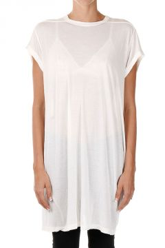 Round Neck TOP T-shirt Milk