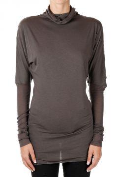T-shirt a Collo Alto con Manica Lunga DarkDust