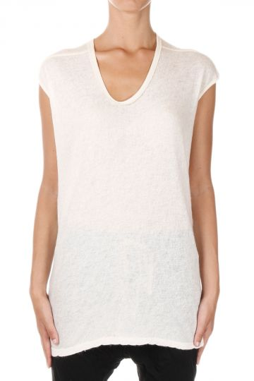 T-shirt FLOATING in Cashmere e Seta