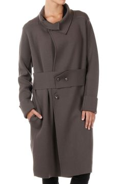 Virgin wool LIMO LINER Knitted Coat