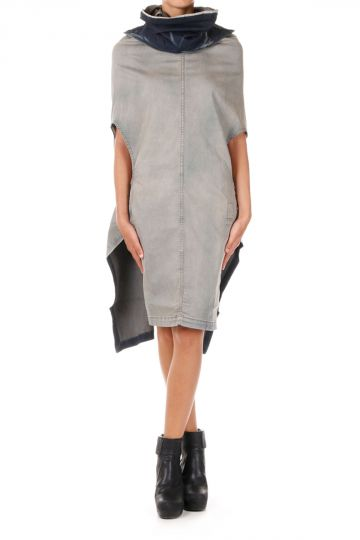 DRKSHDW Vestito SHROUD in Denim