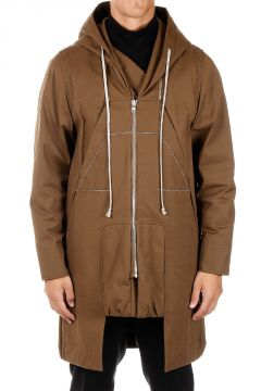 Hooded Parka in Cotton