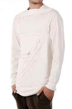DRKSHDW T-shirt VICIOUS LAYERED OVER Manica Lunga