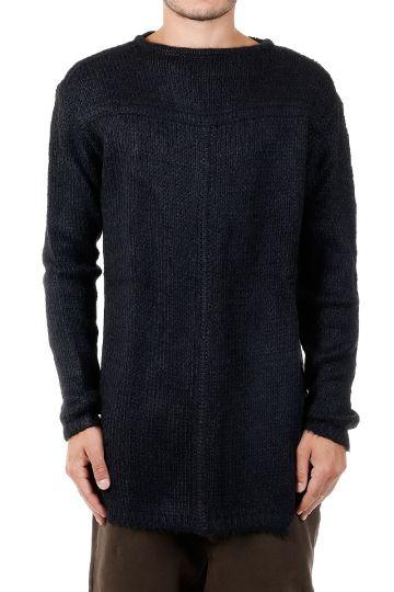 Silk Round Neck Sweater