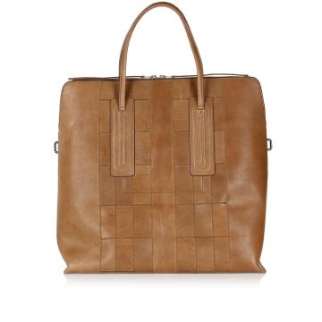 JUMBO SQUARE Leather Bag