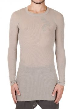 Raw cut Edge Long sleeve RIB Tee T-shirt